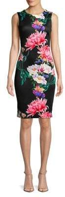 Dorothy Perkins Sleeveless Floral Pencil Dress