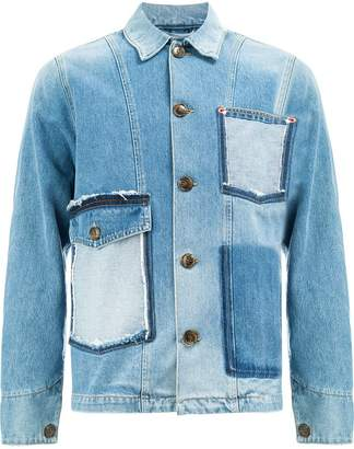 Ports 1961 raw pocket denim jacket
