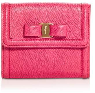 Salvatore Ferragamo Vara Leather French Continental Wallet