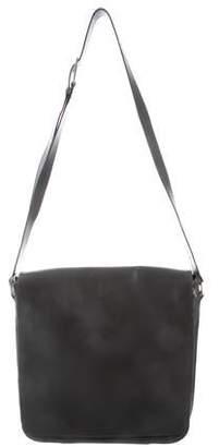 Calvin Klein Collection Leather Messenger Bag