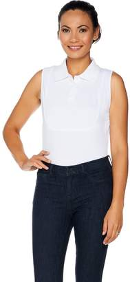 Kathleen Kirkwood Dictrac-Ease Polo Collar Layering Cami