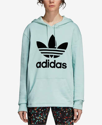 adidas Cotton Relaxed Logo Hoodie
