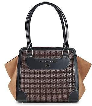 Ted Lapidus FANTASIO women's Shoulder Bag in Brown