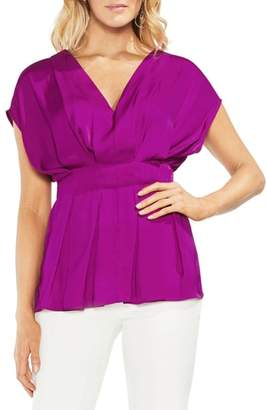 Vince Camuto Cinched Waist Top