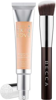 Becca Skin Love Weightless Blur Foundation & Brush
