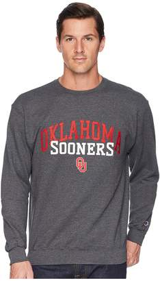 Champion College Oklahoma Sooners Eco Powerblend Crew Men's Short Sleeve Pullover