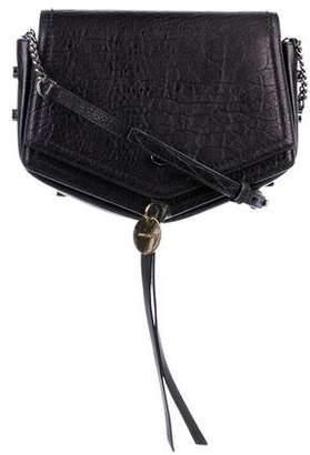 Jimmy Choo Leather Arrow Crossbody Bag