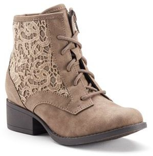 Candie's® Girls' Crochet Ankle Boots $59.99 thestylecure.com