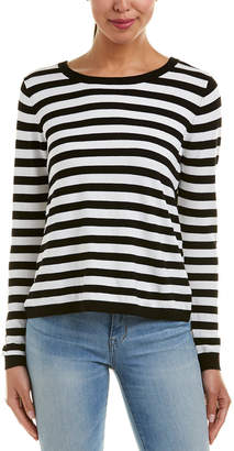 Central Park West Zion Striped Sweater