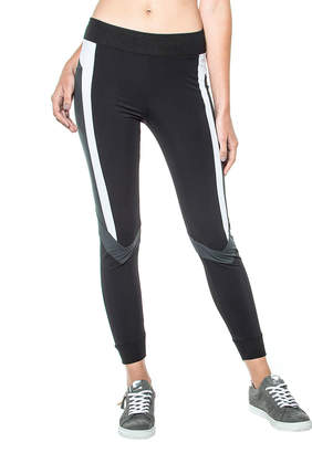 Blanc Noir Pirouette Striped Leggings