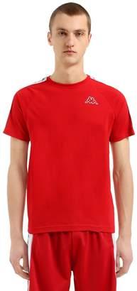 Kappa Logo Tape Cotton Jersey T-Shirt