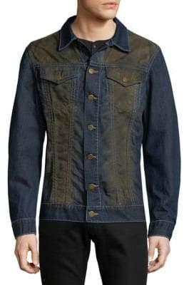 Heavy Stitch Garage Denim Jacket