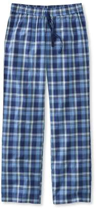 L.L. Bean L.L.Bean Cotton Sleep Pants, Madras