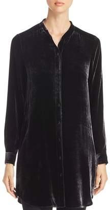 Eileen Fisher Velvet Tunic Top