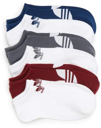 adidas 6-Pack Trefoil No-Show Socks
