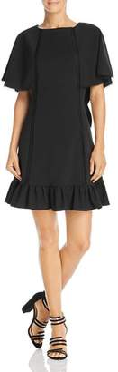 Nanette Lepore nanette Cape-Sleeve Dress