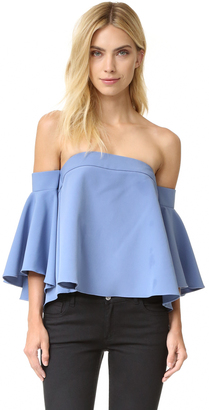 Milly Rosa Top $285 thestylecure.com