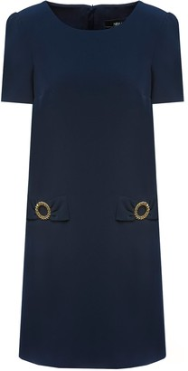 Nissa Golden Detail Office Dress