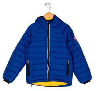 Canada Goose Boys' Hooded Puffer Jacket