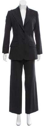 Dolce & Gabbana Pinstripe Notch-Lapel Pantsuit