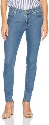 Hudson Jeans Women's Nico Midrise Super Skinny Light Stonewash