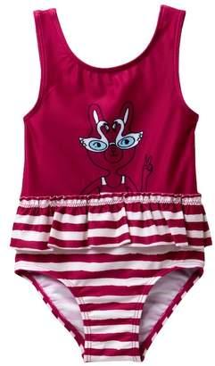 Joe Fresh Scoop Back One-Piece Swimsuit (Baby Girls)