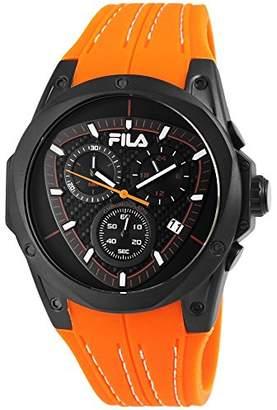 Fila Mens Analogue Quartz Watch with Silicone Strap 38-821-006