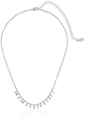 Sorrelli Lisa Oswald Collection Metal Disc Choker Necklace