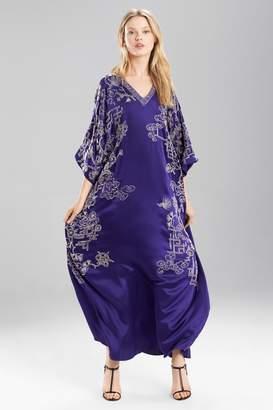 Josie Natori Couture Vintage Floral Caftan - Style B50041