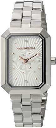 Karl Lagerfeld Women's 'Linda' Quartz Stainless Steel Casual Watch, Color -Toned (Model: KL6105)