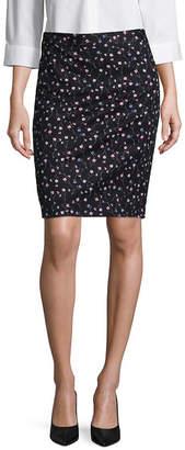 Liz Claiborne Pique Pencil Skirt - Tall 23.5