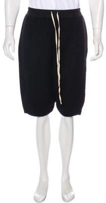 Rick Owens Cashmere Pod Shorts