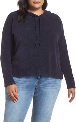 Eileen Fisher Organic Cotton Hooded Sweater