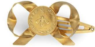 Metal bow hair clips