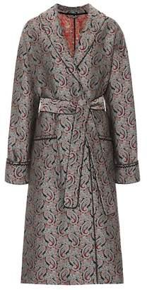 ALEXACHUNG Paisley jacquard coat