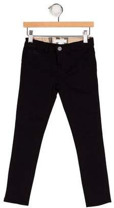 Burberry Girls' Zip Front Leggings