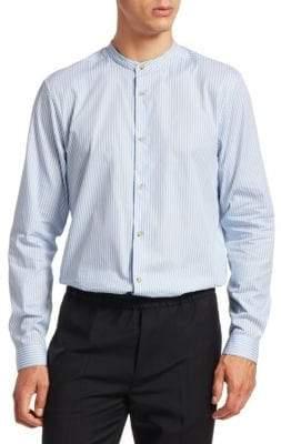 Acne Studios Striped Button-Front Shirt