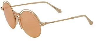 Roberto Cavalli 57MM Round Sunglasses