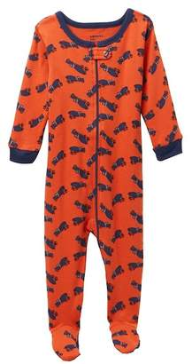 Leveret Truck Footed Pajama Sleeper (Baby Boys)