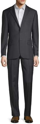 Hickey Freeman Men's Pinstripe Wool Suit