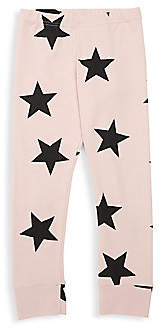 Nununu Baby's & Little Girl's Star Cotton Leggings