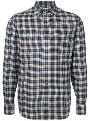 Gieves & Hawkes classic plaid shirt