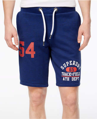 Superdry Men's Trackster Vintage Logo-Print Sweat Shorts