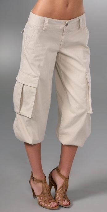 Alice + Olivia Congo Banded Bottom Cargo Pants