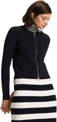 Tommy Hilfiger Fitted Zip Jacket