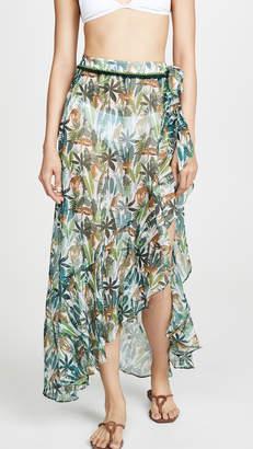 Kos Resort Tropical Sarong Skirt