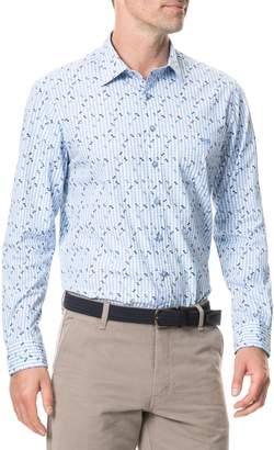 Rodd & Gunn Mitchies Crossing Regular Fit Spotted Gingham Sport Shirt