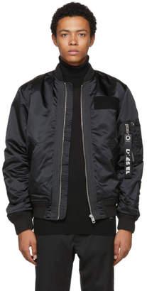Diesel Black J-Souly Bomber Jacket