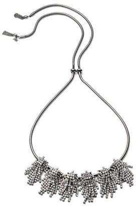ABS by Allen Schwartz Change of Heart Convertible Crystal Choker Necklace