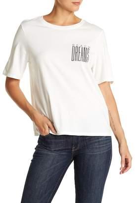 Billabong Short Sleeve Back Lace-Up Blouse
